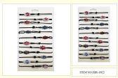 60 Units of  Wholesale Palm shape Evil Eye Bracelet - Bracelets