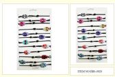24 Units of Wholesale Sugar Skull Bracelet - Bracelets
