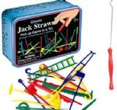 6 Units of Classic Jack Straws Game in a Tin - Toys & Games