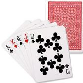 96 Units of Regulation Size Playing Cards - Card Games