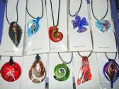 60 Units of Wholesale Fashion Murano Glass Necklace - Necklace