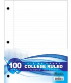 60 Units of 100-Sheet College Ruled Filler Paper - Paper