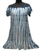 36 Units of Women's Rayon Denim Wash & Tie Dye Cold Shoulder Dresses with Spaghetti Straps - Assorted Colors - Size Small-XL - Womens Sundresses & Fashion