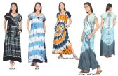 48 Units of Women's Tie Dye Maxi Dresses with Side Pockets - Assorted Colors - Size Small-XL - Womens Sundresses & Fashion