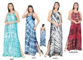 48 Units of Women's Dip Dye Rayon Maxi Dresses - Assorted Colors - Size Small-XL - Womens Sundresses & Fashion