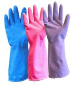120 Units of Latex Gloves Medium/Large - Purple - Latex Gloves