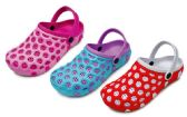 36 Units of Women's Bubble Clogs w/ Adjustable Straps - Asssorted Colors - Womens Clogs