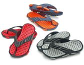 48 Units of Boy's Sandals w/ Massage Footbed - Assorted Colors - Boys Flip Flops & Sandals