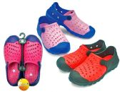 36 Units of Women's Clogs with/ Ventilated Upper - Asssorted Colors - Womens Clogs