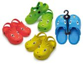 48 Units of Toddler's Animal Clogs - Assorted Colors - Kids Aqua Shoes