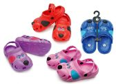 48 Units of Toddler's Dog Clogs - Assorted Colors - Kids Aqua Shoes
