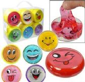 "48 Units of 3"" Emoji Crystal Mud Slime - Slime & Squishees"