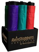 "6 Units of 42"" Manual Super Mini Umbrellas - Assorted Colors in Counter Display - Umbrella"
