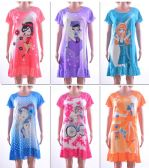72 Units of Women's Nightgowns - Assorted Graphic Prints - Sizes Medium-XXL - Women's Pajamas and Sleepwear