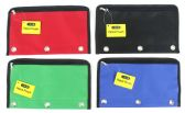 48 Units of 3-Ring Pencil Pouch - Pencil Boxes & Pouches