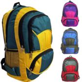 "30 Units of 18"" Eagle Sport Backpacks - Assorted Colors - Backpacks 18"" or Larger"