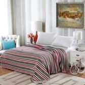 12 Units of Lauren Geometric Microplush Blankets Throw Size In Grey Stripe - Micro Plush Blankets