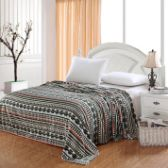 12 Units of Camesa Blankets Throw Size In Tribal - Fleece & Sherpa Blankets