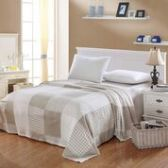 12 Units of Camesa Blankets Twin Size In Beige White Squares - Comforters