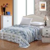 12 Units of Camesa Blankets Full Size In Light Blue Dash - Comforters