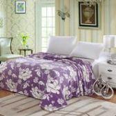 12 Units of Madison Blankets Twin Size In Purple - Fleece Baby/Lap Blankets