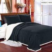 12 Units of Mermaid Oversize Sherpa Blankets Queen Size In Black - Micro Mink Sherpa Blankets