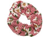 144 Units of Garden Floral Hair Twister - Hair Accessories