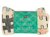 12 Units of Super Soft Jacquard Coral Fleece Blanket - Fleece & Sherpa Blankets