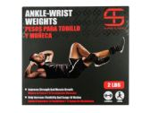 12 Units of Shred & Tone 2 Pound Ankle-Wrist Weights - Workout Gear