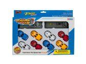 12 Units of Race Car Launch Set - Toy Sets