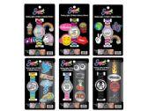 36 Units of Sugar Flashing Lights LCD Watch & Adhesive Stickers Set - Stickers