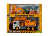 6 Units of Friction Powered Loader Truck & Construction Team Set - Cars, Planes, Trains & Bikes