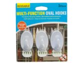 48 Units of Reusable Multi-Function Oval Hooks Set - Hooks