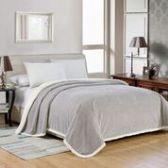 4 Units of Elite Sherpa Blanket Queen Size In Silver - Micro Mink Sherpa Blankets