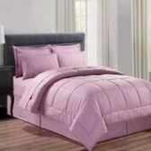 3 Units of 8 Pieces Embossed Vine Comforter Set King Size In Lavender - Bedding Sets