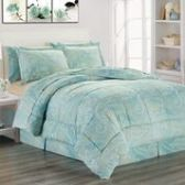 3 Units of 8 Pieces Set Printed Queen Size In Adele Print - Bedding Sets