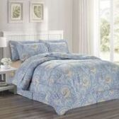 3 Units of 8 Pieces Set Printed Queen Size In Isla Print - Bedding Sets