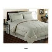 3 Units of 8 Pieces Set Embossed In A Bag Queen Size In Grey - Bedding Sets