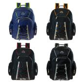 "24 Units of 18"" Wholesale Premium Backpack with Laptop Feature in 4 Assorted Colors - Backpacks 18"" or Larger"