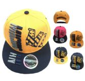 36 Units of Snap Back Flat Bill MICHIGAN[Stars Stripes MI - Baseball Caps/Snap Backs