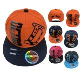 36 Units of Snap Back Flat Bill DETROIT Stars Stripes D - Baseball Caps/Snap Backs