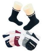 48 Units of Ladies Fashion Socks Pearls & Beads - Womens Knee Highs