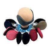72 Units of Earmuffs Solid Colors Plush - Ear Warmers