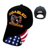 36 Units of DISABLED VETERAN Ball Cap - Baseball Caps/Snap Backs