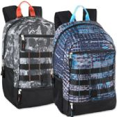 "24 Units of Mountain Edge 19 Inch Daisy Chain Backpack - Backpacks 18"" or Larger"