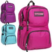 "24 Units of Trailmaker Backpack - Double Compartment With Padding - Girls - Backpacks 18"" or Larger"