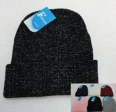 36 Units of Sparkly Winter Toboggan - Toboggan Hats