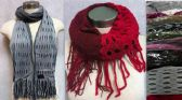 36 Units of Dual Purposes Infinity Circle Scarves with Dual Patterns - Winter Scarves