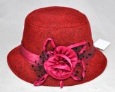 96 Units of Lady's Hat - Assorted Colors - Bucket Hats
