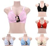 72 Units of Women's Soft Bras Assorted Colors And Sizes - Womens Bras And Bra Sets